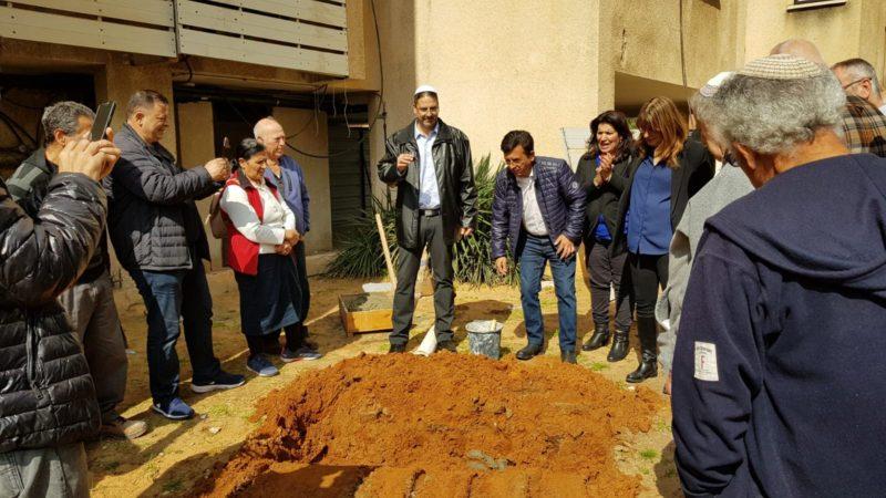 הנחת אבן פינה ראשת עיריית יהוד 2